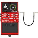 Boss RC-1 Loop Station - Pedal de bucle y cable de conexión keepdrum (30 cm)
