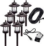 6 Pack Westinghouse 100 Lumen Low Voltage LED Pathway Light Landscape...