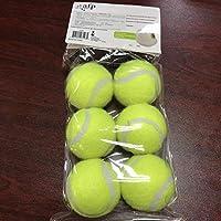 犬のペットのおもちゃテニスランチャー自動投擲機ペットのボール投げ装置3/6 / 9mセクションエミッション(3ボール)犬のトレーニング-6 Balls_L