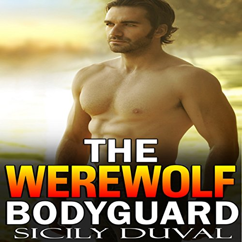 The Werewolf Bodyguard audiobook cover art
