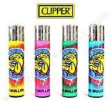 4Feuerzeuge Clipper The Bulldog Amsterdam Graffiti