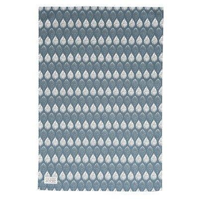 Isabella 70cm Organic Cotton Tea Towel Colour: Blue