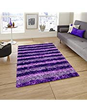 Story at Home Accent Collection Carpet, AC1404, Polyester, Purple, 91 x 152 cm
