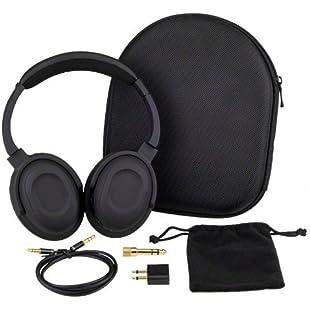7dayshop Headphones AERO 7 Active Noise Cancelling Headphones with Aeroplane Kit and Travel Case:Ukcustomizer