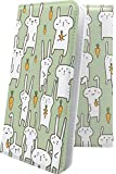 iPhone8 Plus ケース 手帳型 かわいい 可愛い kawaii lively ウサギ 兎 兔 アイフォン アイフ……