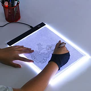 ODIN-Drawing Toys - A5 Painting 3 Level Dimmable Led Drawing Copy Pad Board Children Kids Grow Playmates Creative Gift