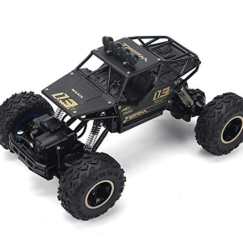 YLJYJ Aleación de Gran tamaño Control Remoto Control Remoto de automóvil Todo Terreno 2.4Ghz Controlado por Radio Race Buggy Hobby 4WD Carga Boy SH (automóvil Inteligente)