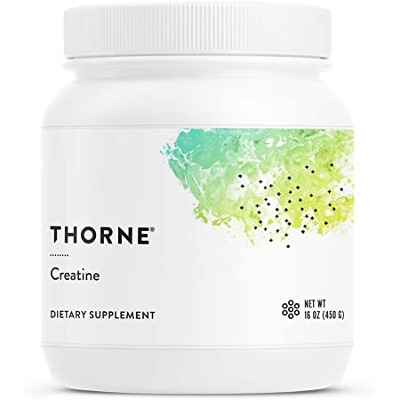Thorne Research - Creatine- Creatine Powder to Support Energy Production, Lean Body Mass, Muscle Endurance, and Power Output - NSF Certified for Sport - 16 Oz