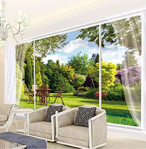 3 D behang landschap grote muurschildering voor slaapkamer warmte woonkamer achtergrond wandbehang behang modern Wgop 250 cm x 175 cm.