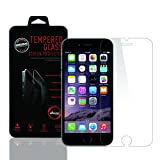 iPhone 6 [Tempered Glass] Clear Screen Protector, ZiBay(TM) Premium Bubble-Free, Scratchproof, Shockproof Screen Guard (0.3mm Thickness, Curved Edge) for iPhone 6 4.7 Inch