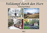 Volldampf durch den Harz (Wandkalender 2022 DIN A4 quer): Schnaufende und Dampfende Zuege fuer grosse und kleine Lokfuehrer. (Monatskalender, 14 Seiten )