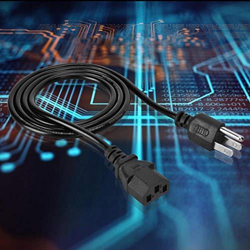 Cable de alimentación con protección de aislamiento de baja resistencia Cable de alimentación con excelente resistencia a la temperatura, para computadora portátil