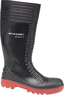 Dunlop New Acifort A252931 Mens Ribbed Full Safety Wellington Slip-On Gents Boot