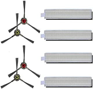 Amoy Części zamienne kompatybilne z Ecovacs Deebot OZMO Slim 10 Robotics Vacuum Cleaner
