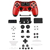 XFUNY PS4 Gamepad Skin Part Replacement Front Back Controller Shell Polished...