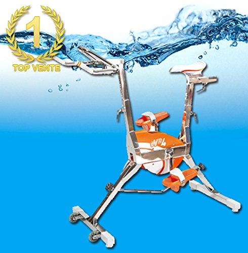 Poolstar - Bicicleta para piscina WR4 Le Must