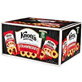 Knott's Berry Farm Strawberry Shortbread -36/2oz (Strawberry, 36 Pouches)
