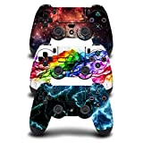 eSeeking [3PCS] Whole Body Vinyl Sticker Decal Cover Skin for PS4 Controller - 3pcs. Combination