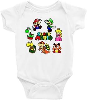 86225d85a Super Mario Bros. Short Sleeve Unisex Onesie (0-3)