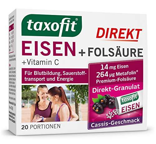Taxofit Eisen +  Direkt-Granulat, 20 St
