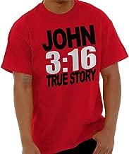 John Religious Jesus Christ Christian Bible T Shirt Tee