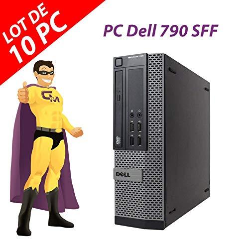 Dell OptiPlex 790 SFF Intel G630 RAM 4 GB Festplatte 250 GB Windows 10 WiFi (Refurbished) 10 Stück