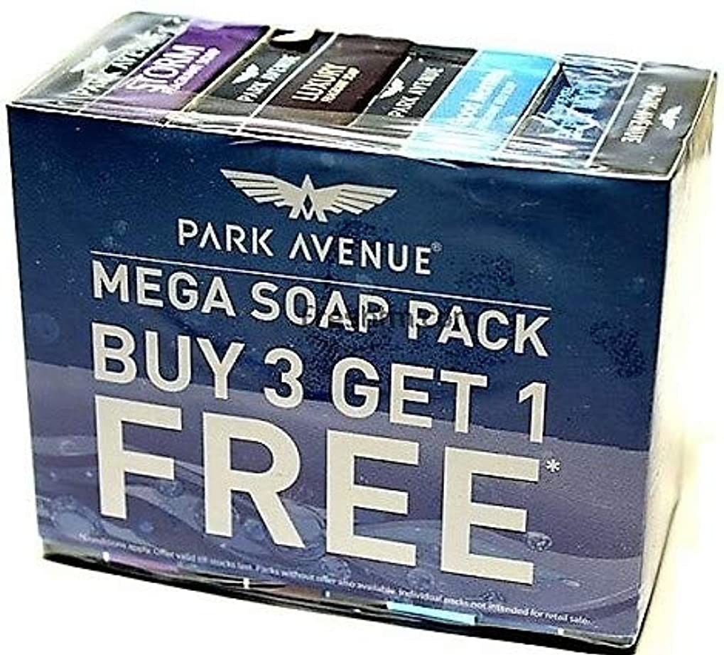 マーチャンダイザー悲しみ反抗Park Avenue Mega Soap Pack - Buy 3 Get 1 Free