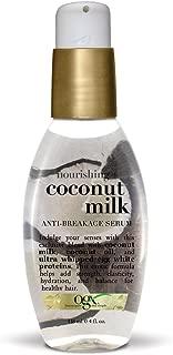 OGX Nourishing + Coconut Milk Anti-Breakage Serum, 4 Ounce