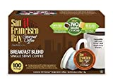 San Francisco Bay OneCup Breakfast Blend, Single Serve Coffee K-Cup Pods (100 Count) Keurig Compatible