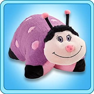 Pillow Pets 11 Inch Pee Wees - Dreamy Ladybug , Purple/Pink by Pillow Pets