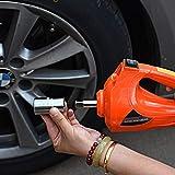 E-HEELP Auto Cric Elettrico 3T,con Avvitatore a percussione Elettrico,per SUV Van Garage e Attrezzature di Emergenza,Portata di Sollevamento 12-42 cm,La Certification CE + ISO9001
