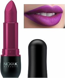 NICKA K Vivid Matte Lipstick - NMS20 Deep Pink (並行輸入品)