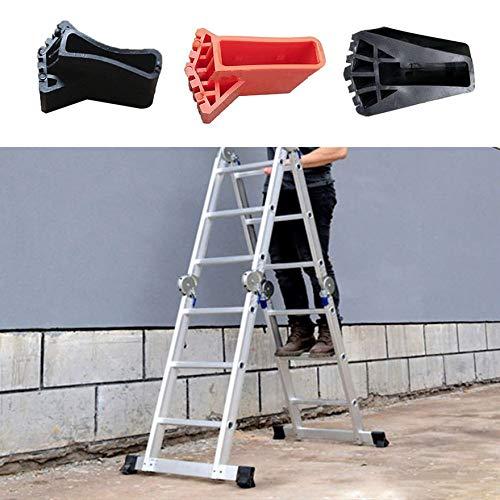 Escalera cubierta del pie redondo Exquisito Durable de múltiples funciones plegable Escalera en forma de ventilador Cubierta del pie antideslizante Mat - Negro: Amazon.es: Bricolaje y herramientas