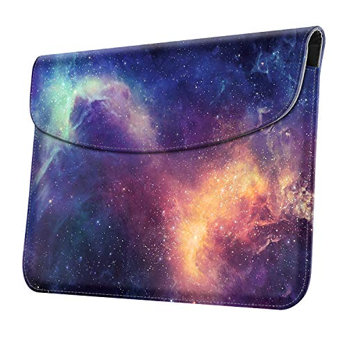 FINTIE Funda para Microsoft Surface Go 2 de 10.5'/Surface Go de 10' - Bolsa Delgada Protectora de Cuero Sintético con Soporte para Lápiz Compatible con Teclado Type Cover, Galaxia
