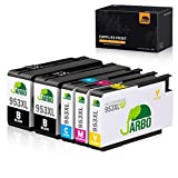JARBO 953XL Remanufacturéd HP 953 953XL Cartouches d'encre Compatible avec HP Officejet Pro 8710 8720 8715 8730 8725 7740 8740...