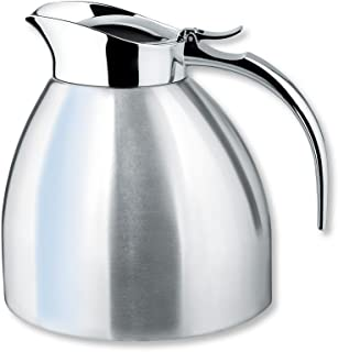 Isosteel Va-9330k 1.0 Liter 34 Fl. Oz Stainless Steel Double Walled Vacuum Insulated Carafe Dishwasher Safe by Isosteel Germany