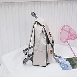 Daypacks Unisex-Adult Popular Lightweight Large Capacity Backpack Sack Rucksack Knapsack Back Bag Bag High School Student School Large Backpack (Color : Gray)