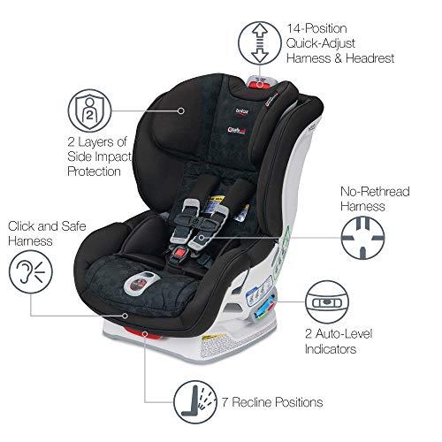 Britax Boulevard ClickTight Convertible Car Seat - 2 Layer Impact...