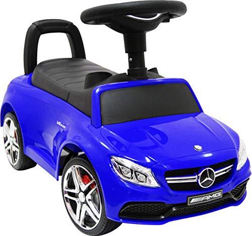 足けり玩具 BENZ C63 AMG [638] メルセデスベンツ ライセンス品 乗用玩具 乗り物おもちゃ 子供向け (ブルー)