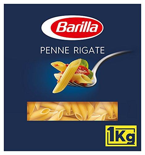 Barilla Hartweizen Pasta Penne Rigate n. 73 – 1er Pack (1x1kg)