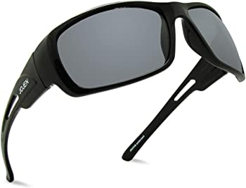 JOJEN Unisex Polarized Sports Sunglasses