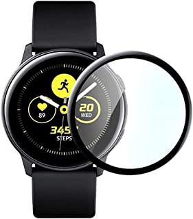 @ccessory Screen Protector Compatible with Samsung Galaxy Watch Active 2 44mm, Anti-Scratch HD Clear Tempered Glass Film (...