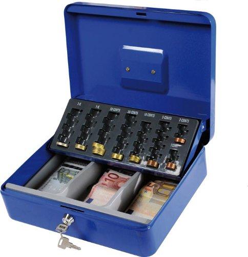 Cassetta Portavalori Maurer con Vassoio Porta Monete 30X24Xh9 cm Maurer