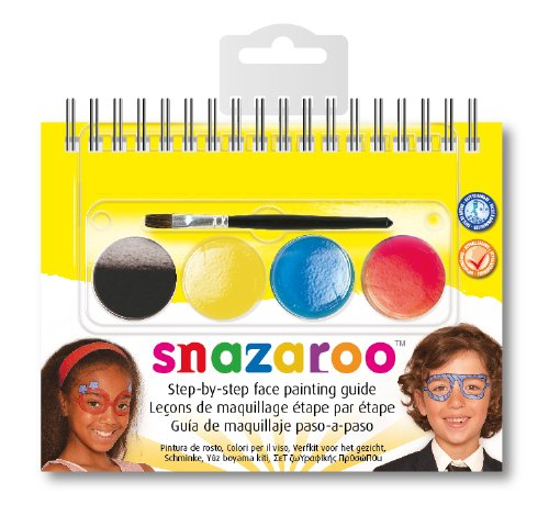 Snazaroo - 766416125811 - Maquillage - Mini Kit - Livret Lunettes