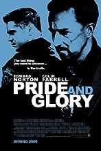 PRIDE AND GLORY Original Movie Poster 27x40 - Dbl-Sided - Edward Norton - Jon Voight - Colin Farrell - Noah Emmerich