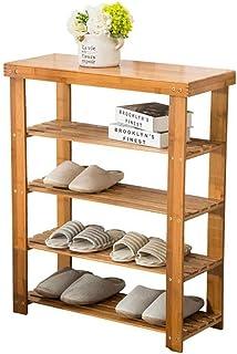 JJZXT Range-Chaussures en Bois de la Maison Lavish, Banc de Rangement - Penderie, Salle de Bains, Cuisine, Organisateur d'...