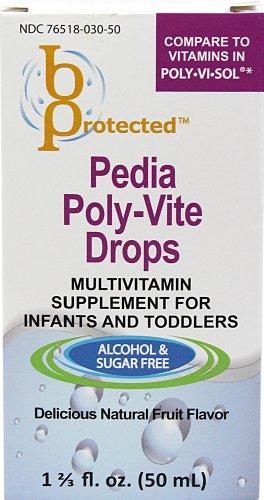 Pedia Poly-Vite Drops 1 2/3 fl Ounce Liquid
