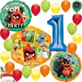 Angry Birds 2 Party Supplies Birthday Balloon Decoration Bundle 1st Birthday
