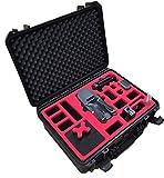 MC-CASES  Profi Transportkoffer passend für DJI Mavic Pro und Platinum (Explorer Edition) mit Platz für insgesamt 7 Akkus und viel Zubehör - Made in Germany -