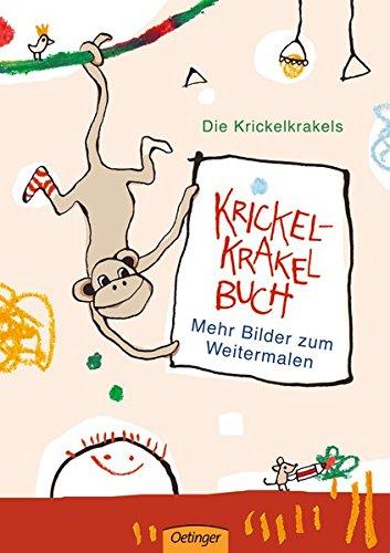 Krickel-Krakel Buch Mehr Bilder zum Weitermalen